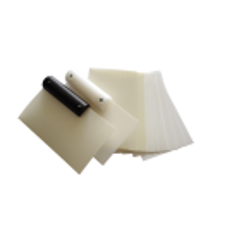 Türfallenöffnungskarten Set mit 2 Griffe