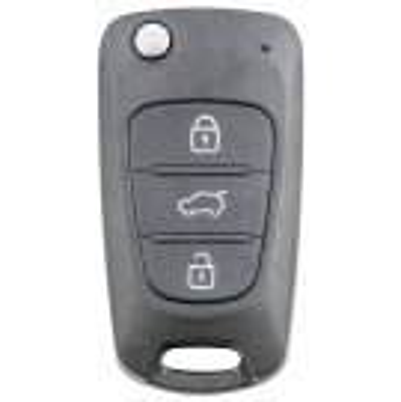 Klappschlüsselgehäuse mit 3 Tasten neue Hyundai Fahrzeuge