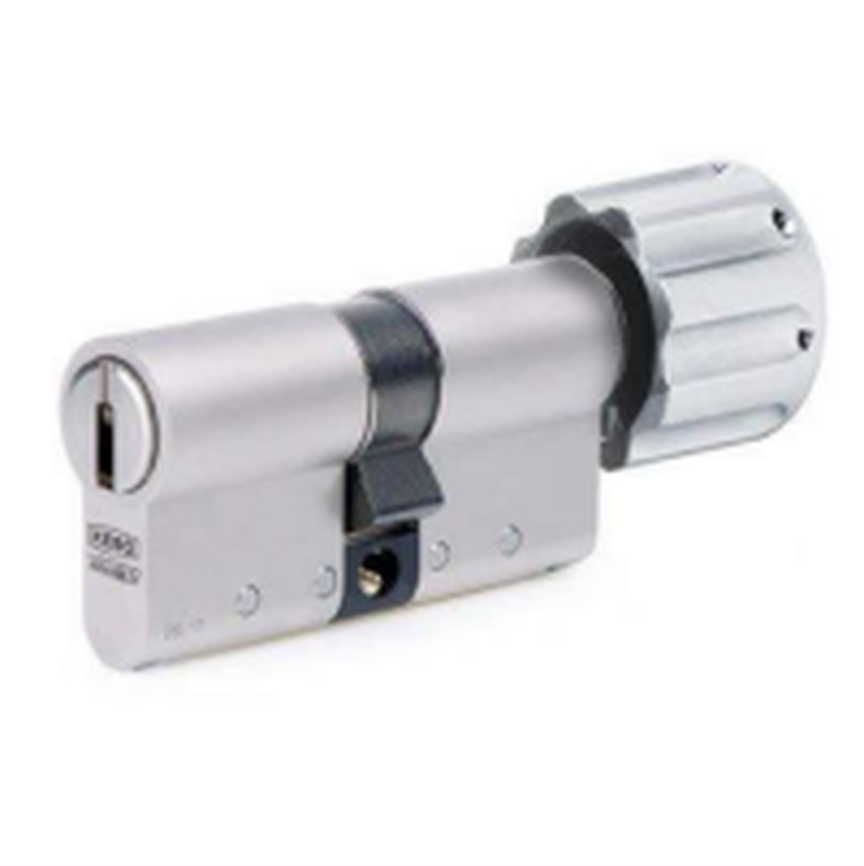 KESO 2000SΩ Drehknopfzylinder Basis - asymmetrisch