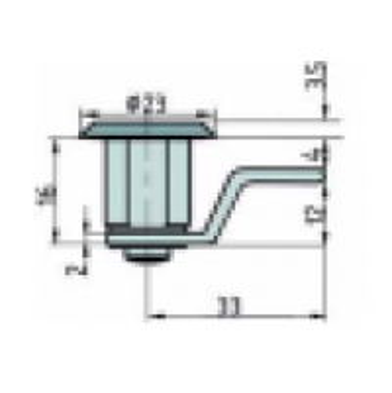 Hebelzylinder mit je 2 Schlüssel (für BASI Briefkästen BK 100)