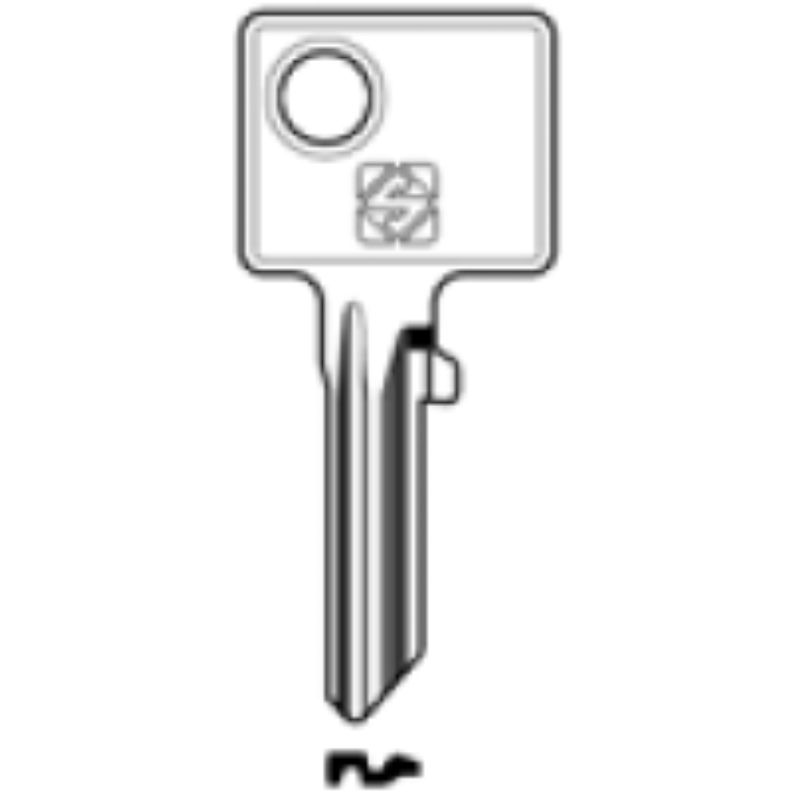 Schlüsselrohling BUR20 - Stahl