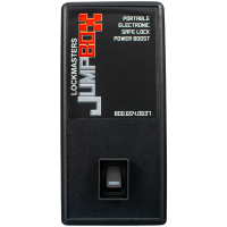 JumpBox -Tragbarer elektronischer Power Boost für Safe Schlösser