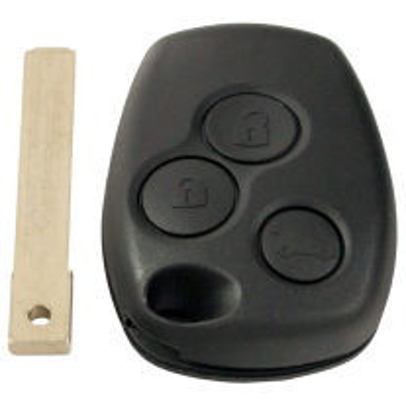 Funkschlüssel für Renault / Dacia (433 MHz)