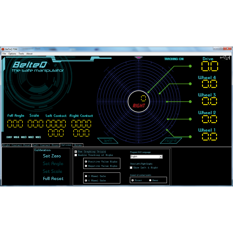TSM - Screenshot Optionen