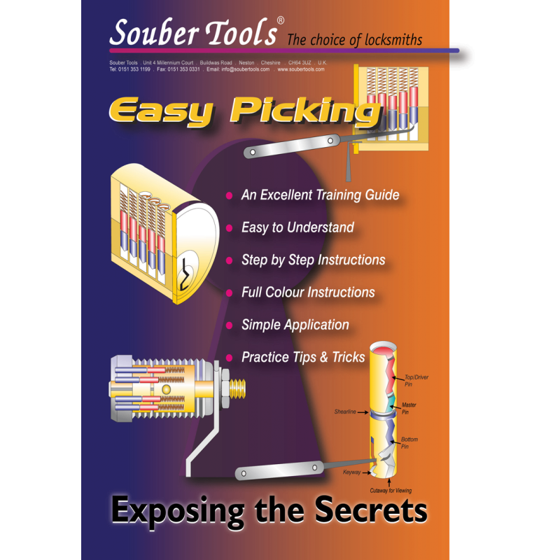 "Buch ""Easy Picking"""" - Englische Version"