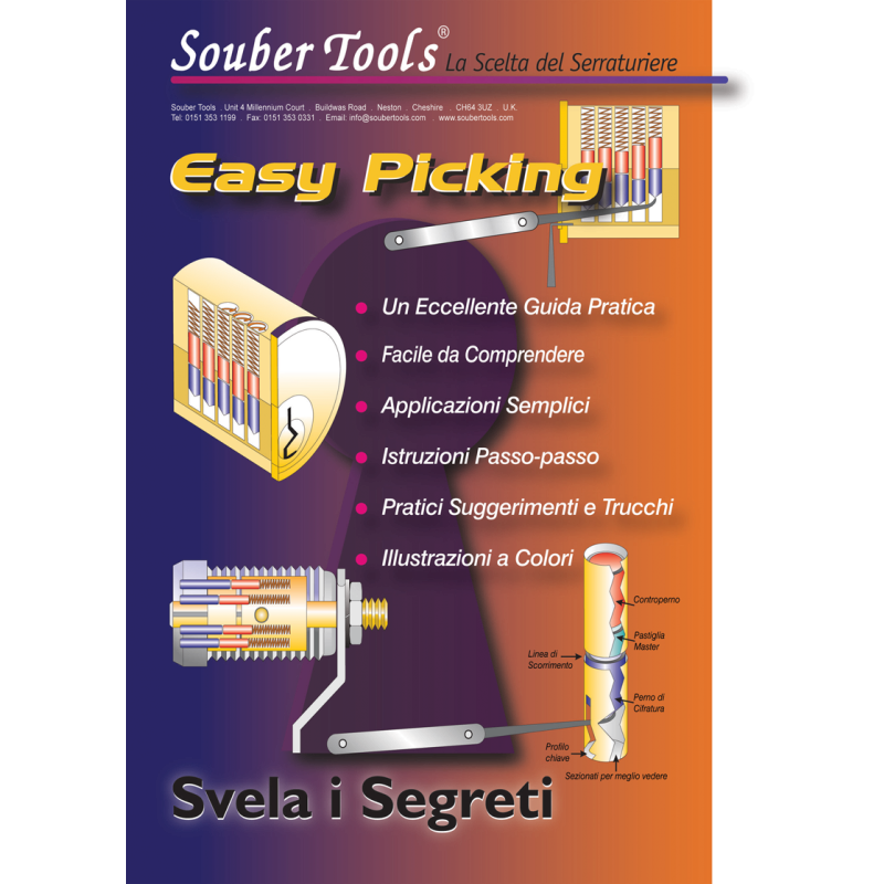 "Buch ""Easy Picking"" - Italienische Version"