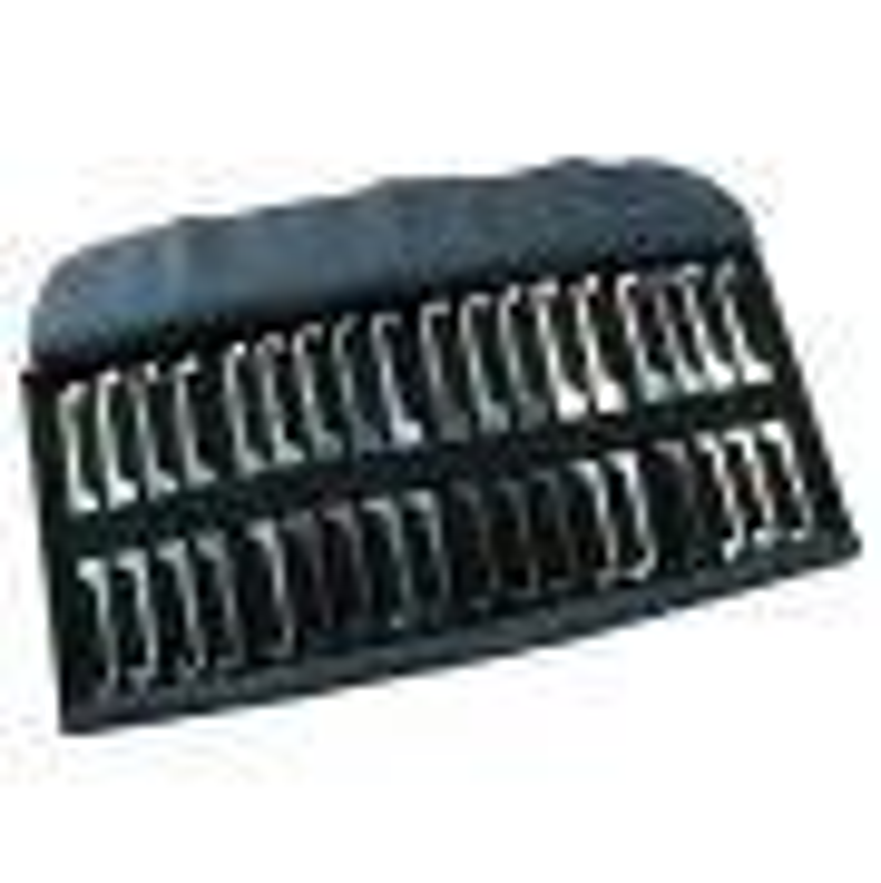 Sperrhakensatz für 3 Zuhaltungen - 18 doppelseitige Sperrhaken mit 36 verschiedenen Profilen