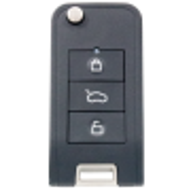 Silca Universalfernbedienung CIRFH6 für Fahrzeuge inklusive Transponder - Chevrolet-Daewoo/ Opel-Vauxhall