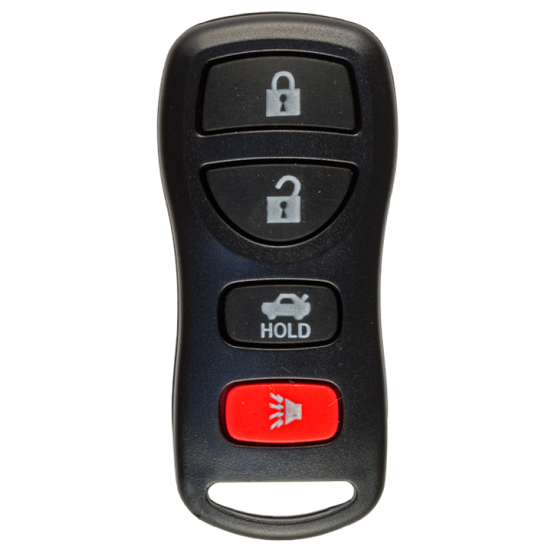 Remote for Nissan NISSAN (433 MHz) 4 buttons - Zieh-Fix com