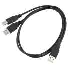 AVDI USB Y cable (2 x USB-A)