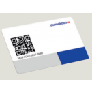 dormakaba user card, LEGIC Advant, 4KB, white, QRC