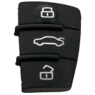 Rubber replacement buttons for AUDI remotes