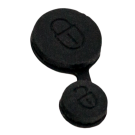 Rubber replacement buttons for Citroen / Peugeot remotes
