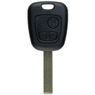 Key shell with 2 buttons for Peugeot HU83