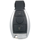Infrared Key blank with 2 buttons for Mercedes