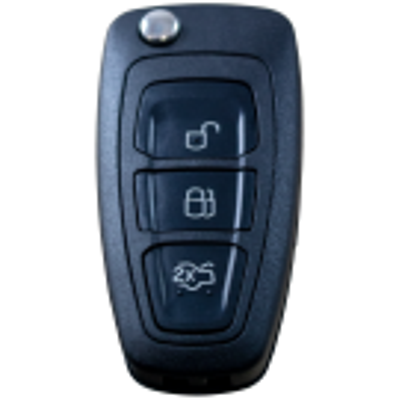 Flip key shell for FORD