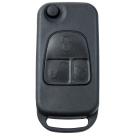Flip key Shell with 3 buttons for Mercedes Benz Infrared key HU39