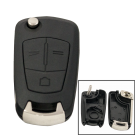 Remote Shell with 3 buttons and HU100 Blade for OPEL (new version)