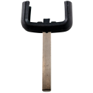 Wide key head for OPEL remote control key (HU100 profile)