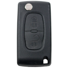 Flip key with 3 buttons for Peugeot (433 MHz) for cars after 2011