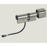Mechatronic cylinder with rotary knob 1449 euro profile
