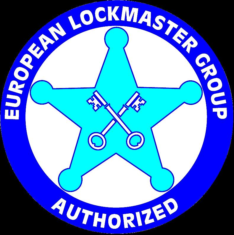 RVS 610Z round shackle padlock