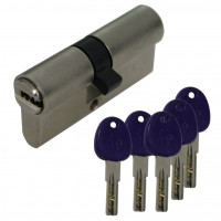 Double profile cylinder dimple system 7160 incl. 5 dimple keys
