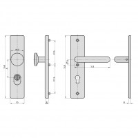 SB 7500 ES0 ZA protection fitting stainless steel