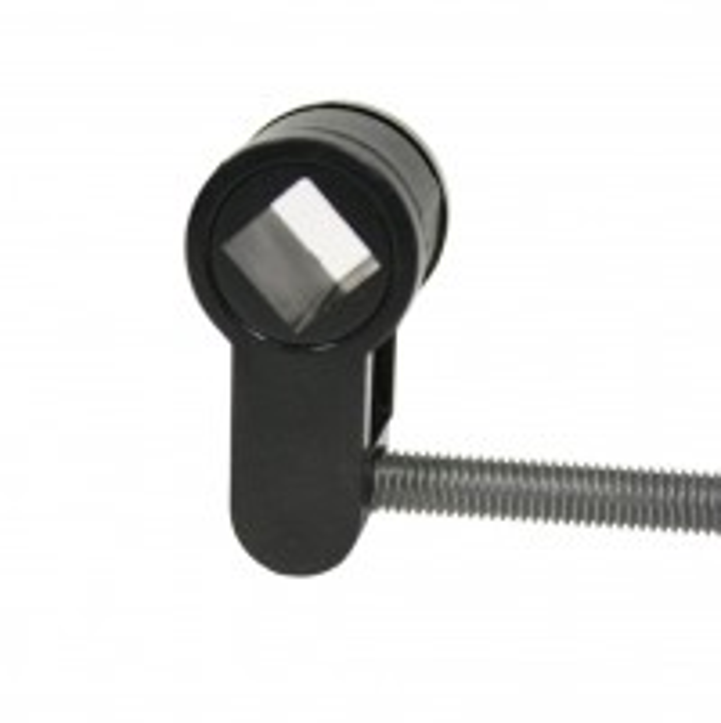 Toilet insert for profile cylinder mortise locks, plastic