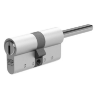 KESO 8000Ω2 Double profile cylinder with knob for MOZYeco