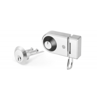 KESO 8000Ω2  Desing bolt lock with locking bar with inner lock and rim lock (excentric)