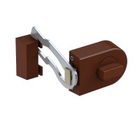 KS 500R Additional door lock (rounded) with locking bar