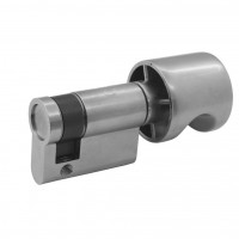 blind knob half cylinder