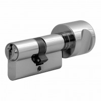 """Double profile cylinder with knob WILKA series """"Carat S4"""" incl. security card -Keyed alike"""