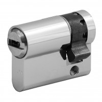 "Half cylinder WILKA series ""Carat S5"" incl. security card (horizontal reversible dimple-key system)- different locking"