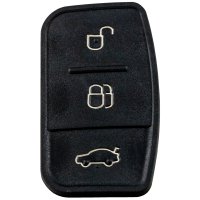 Rubber replacement buttons for FORD