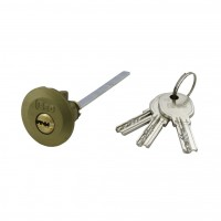Rim lock ISEO R6 (Reversible- dimple key - system)