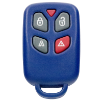 External remote for Fiat 433 MHz with 4 buttons