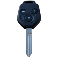 Car key with remote for Subaru