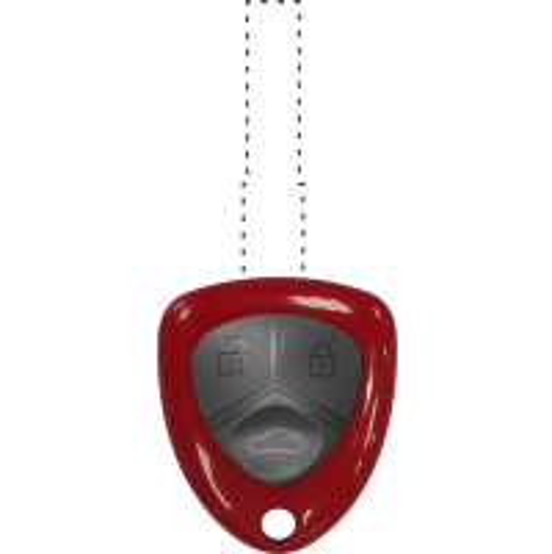 VVDI Universal Remote for Ferrari (Red)