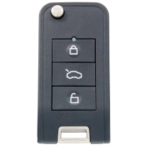 SILCA remote car keys CIRFH4 - universal remote for cars including transponder for Dacia, Renault