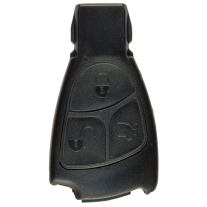 Replacement shell for Mercedes Benz Infrared key without battery compartment
