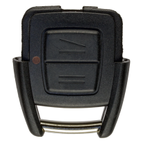 Remote Shell with 2 buttons for OPEL (width version)