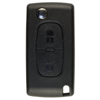 Flip key Shell with 2 buttons for Peugeot VA2