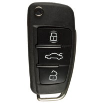 Flip key with Remote (433 Mhz) for Audi