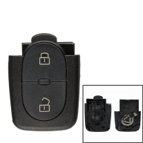 Remote Shell with 2 Buttons for AUDI (2 batteries)