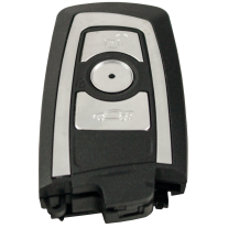 3 buttons replacement case for F-series (black)