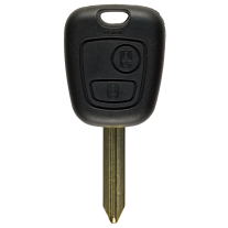 Key shell for Citroen with two buttons and Sx9 profil