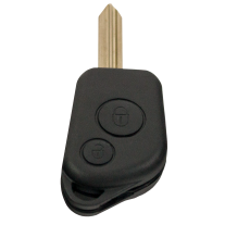 Key case with 2 buttons for Citroen with SX9 profile