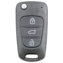Flip key shell with 3 buttons for new Hyundai models